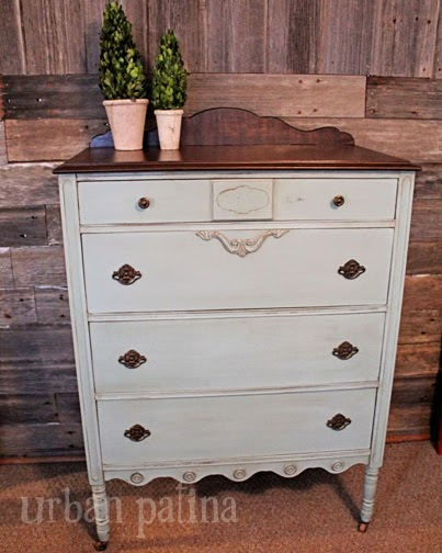 painted hand drawer vintage rustic chest dresser antique market of oak il etsy sold drawers