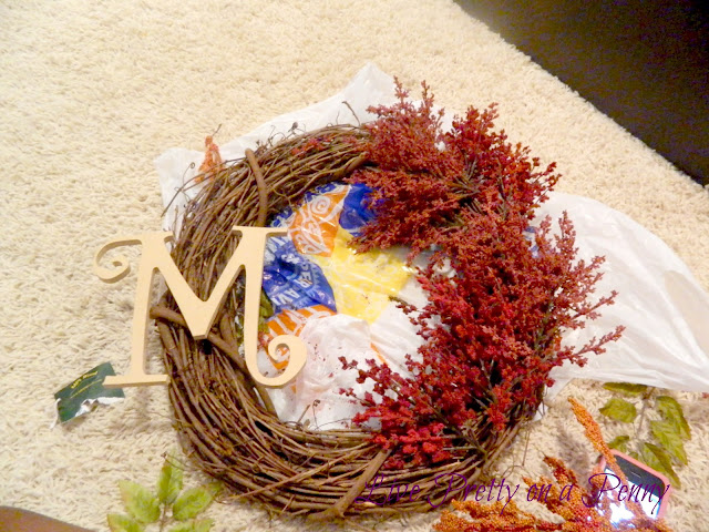 cheap and easy fall wreath tutorial oh also takes less than an hour to complete, crafts, seasonal holiday decor, wreaths