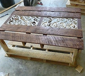 Awesome Pallet Coffee Table, Outdoor Furniture, Painted Furniture, Pallet