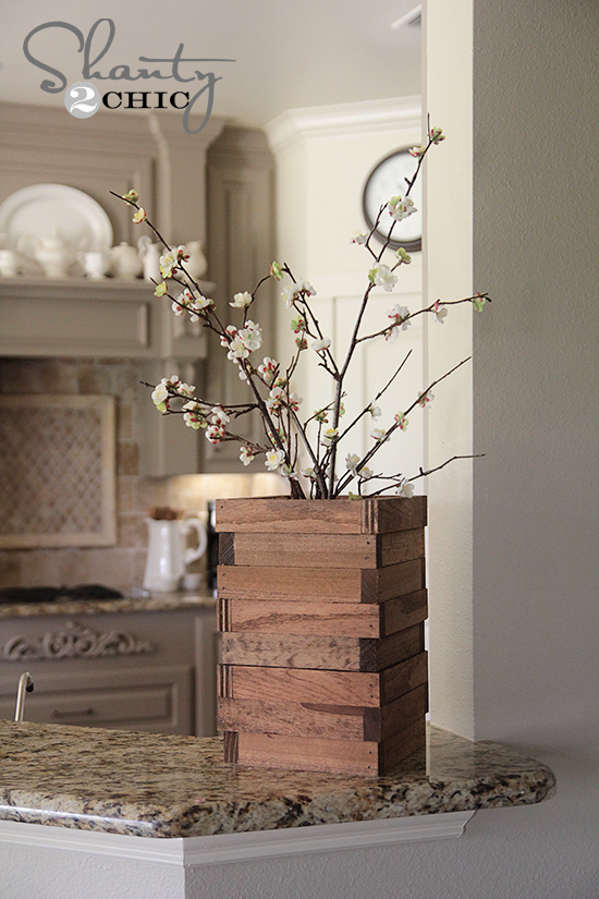 Scrap Wood Vase Easy And Free Hometalk
