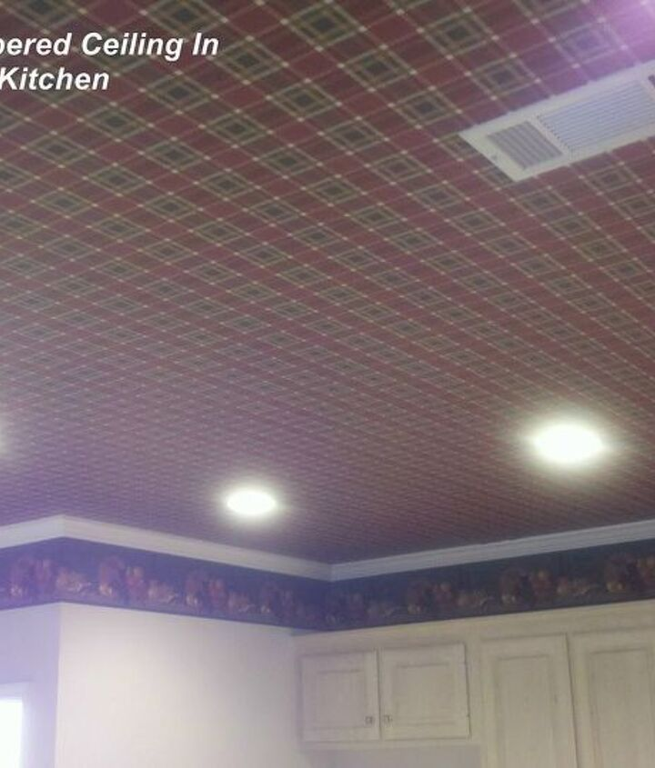 q any advice on ceiling tiles used in the home tin look, home decor, home maintenance repairs, tiling