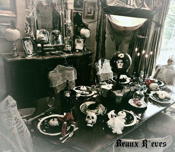 fascinating halloween dining room ideas | Haunted Halloween Dining Room | Hometalk