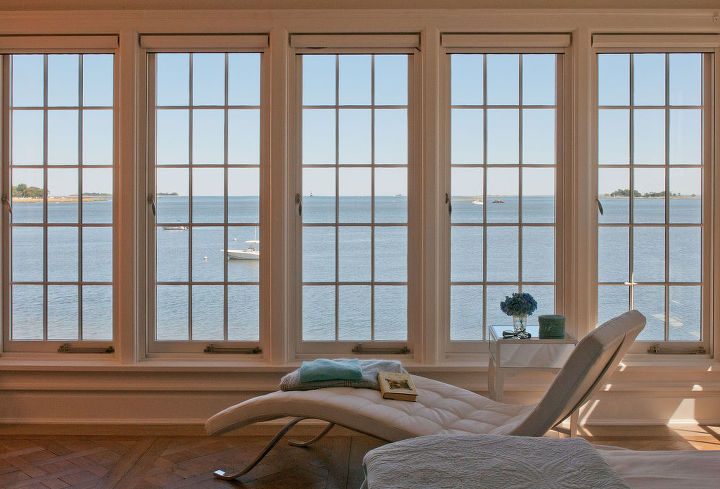 View from 2nd Floor Master Bedroom - The 2nd level also includes a master bath w/ a steam shower & heated floors and a hall bath w/ laundry room. The master bedroom is equipped w/ a lavish master closet w/ custom built oak cabinetry.