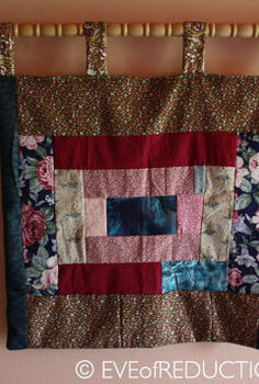 upcycling from crib to quilt rack, repurposing upcycling, Quilt rack made from upcycled crib