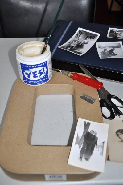diy photo initials, crafts, home decor, Some of the supplies you will need for this project