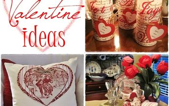 Fun and Easy French-Inspired Valentine Projects...Free Graphics Included!