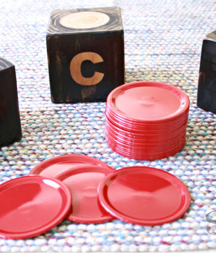 giant DIY dice game