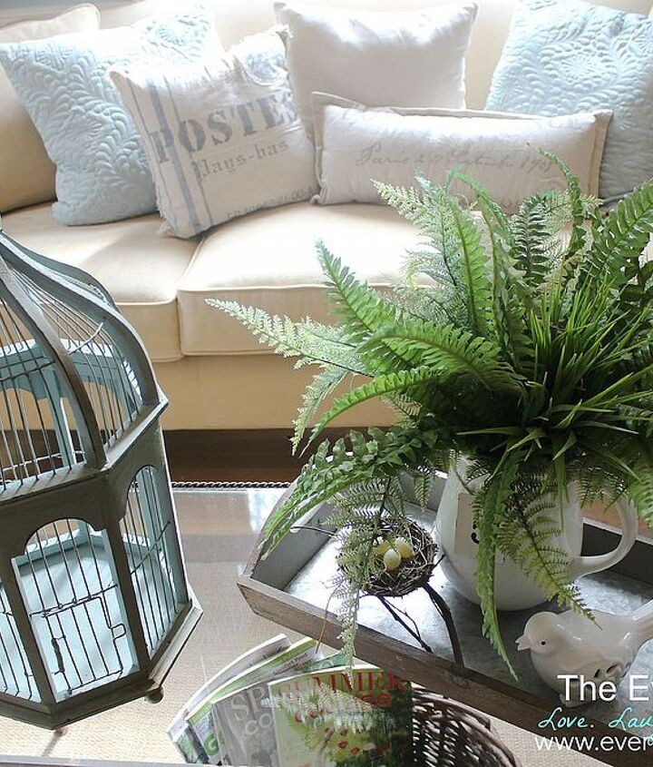 how a birdcage can change your whole room, flowers, home decor, repurposing upcycling