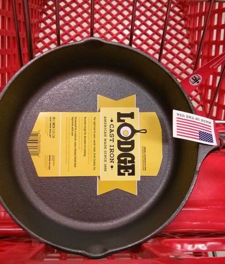 how to season a brand new cast iron pan, cleaning tips