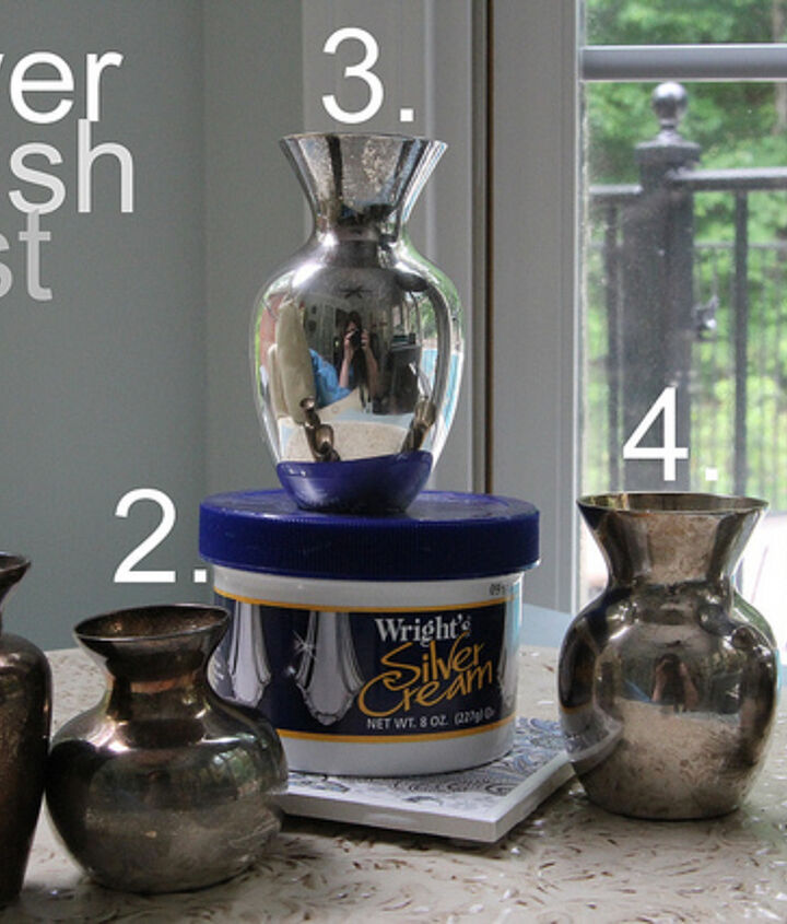silver polish test pinterest homemade jewelry cleaner recipe vs wright s silver, cleaning tips, We have a winner Wright s did the job much better than any shortcut ever could