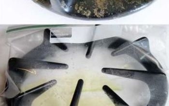 the no scrub way to clean stove burners, appliances, cleaning tips