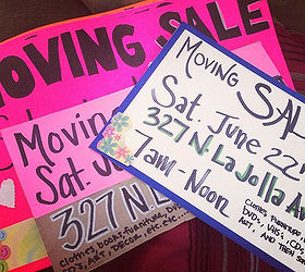 My Garage Yard Moving Sale Tips, Cleaning Tips, Outdoor Living, 1 Marketing  Signs