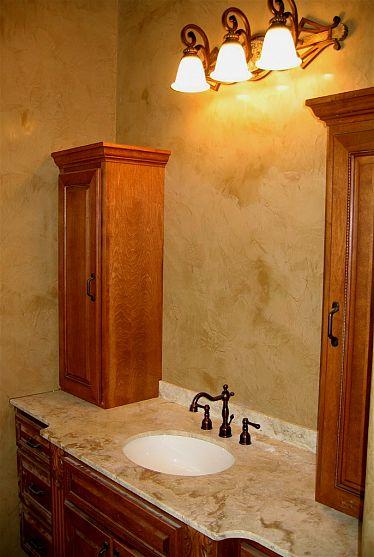 Italian Venetian Plaster -Master Bathroom Walls