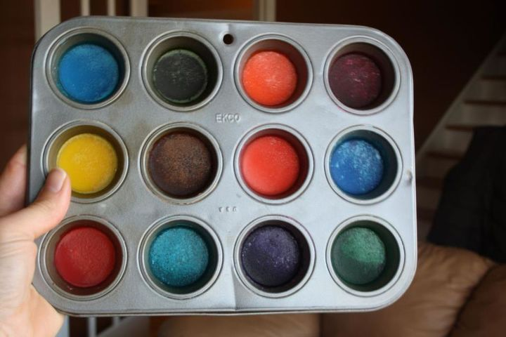 homemade water color paints, crafts, painting