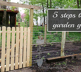 Nice 5 Easy Steps To A Garden Gate, Diy, Fences, How To, Outdoor