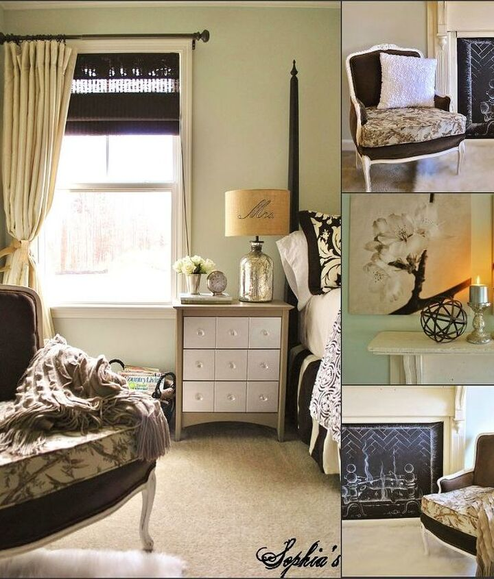 cozy master bedroom retreat, bedroom ideas, fireplaces mantels, home decor