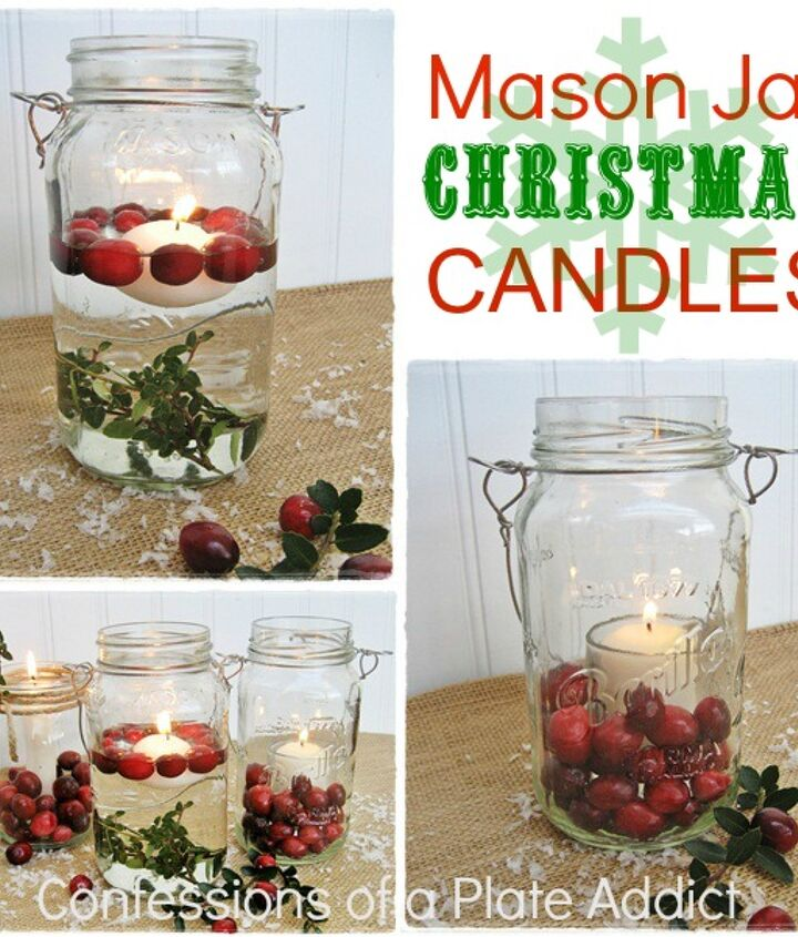 A fun and easy....and practically free!...way to add to your Christmas decor!