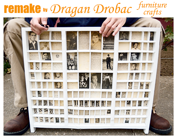 old printers tray remake by dragan drobac furniture crafts, crafts, repurposing upcycling, Old printers tray remake by Dragan Drobac furniture crafts