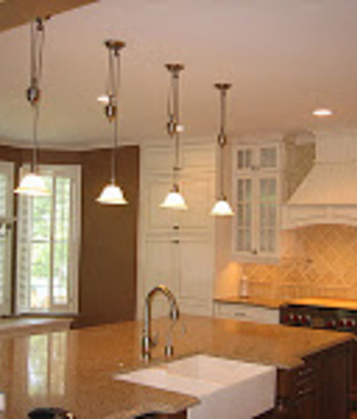 """An Totally """"IN"""" Kitchen By AK: Multiple Countertop Surfaces, Farmhouse Sink & White Cabinets! The Pinnacle Of """"IN!"""" http://blog.akatlanta.com/2011/11/whats-trending-in-kitchens-and-baths.html"""