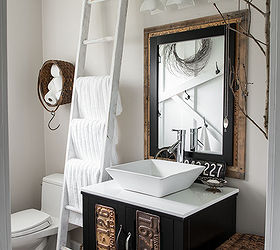 Junk Decorating Home Ideas Part - 49: Hard Times A Dream Home Funky Junk S 2014 Summer Junk Tour, Bathroom Ideas,