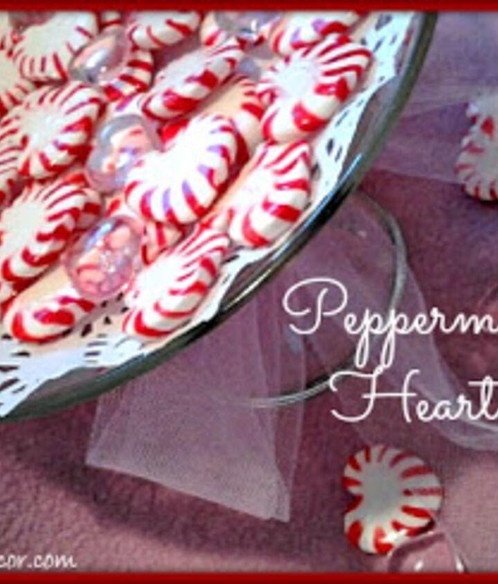 Peppermint Valentine Hearts Tutorial