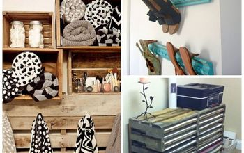 make use and reuse items for decorative storage, home decor, storage ideas