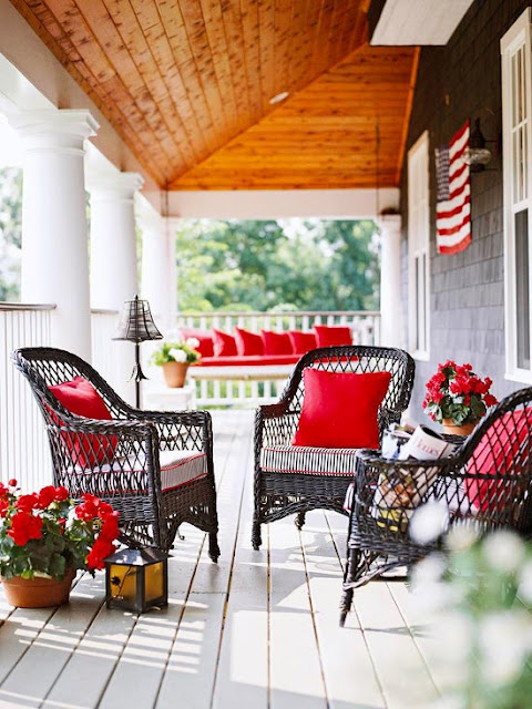 support the red white amp blue today with 20 creative ways to decorate americana, electrical, home decor