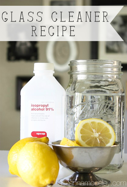 Use these 3 ingredients for streak-free windows and a fresh smelling house.