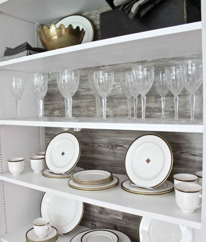 a fun diy project with pergo that has nothing to do with the floor, dining room ideas, diy, home decor