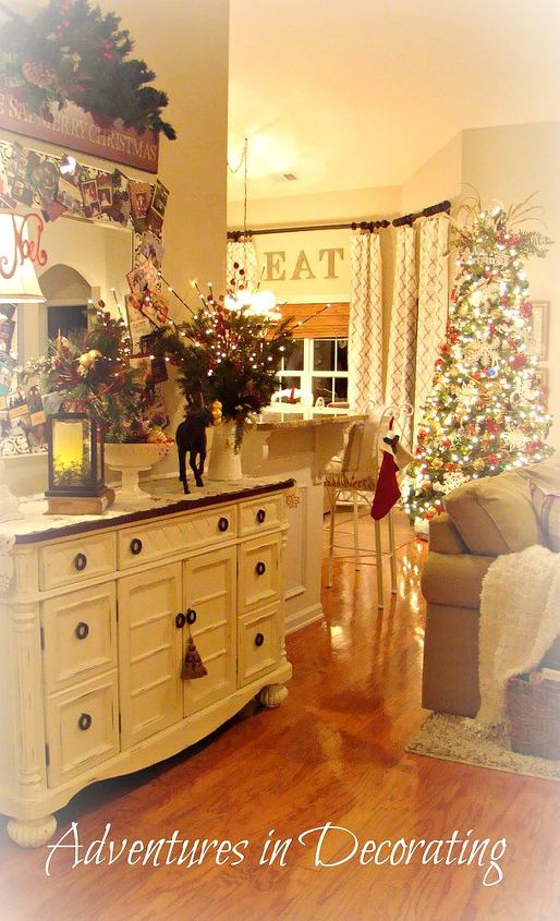 our 2012 christmas great room, christmas decorations, living room ideas, seasonal holiday decor