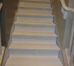 Superbe Removing Carpet From Stairs And Painting Them Hometalk