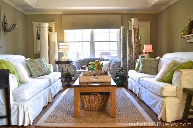 how to love white upholstery in your living room, home decor, living room ideas, reupholster