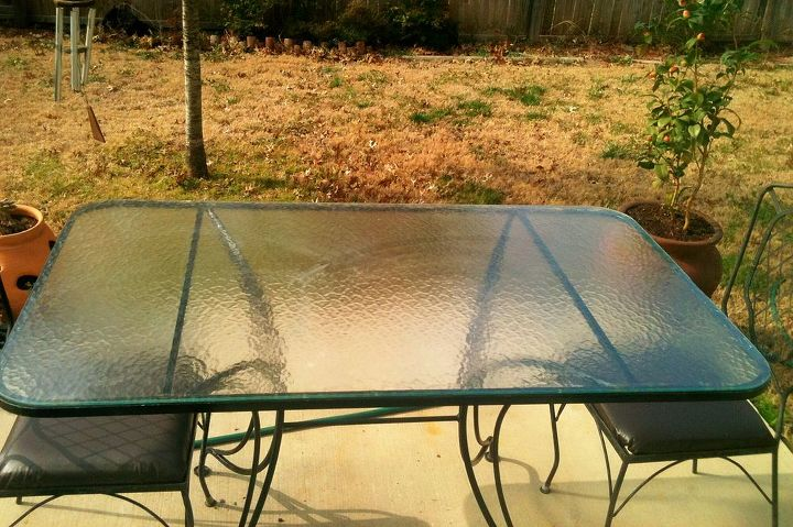 diy patio table, outdoor furniture, outdoor living, painted furniture, patio