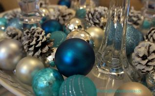 frosted pinecones, crafts, seasonal holiday decor
