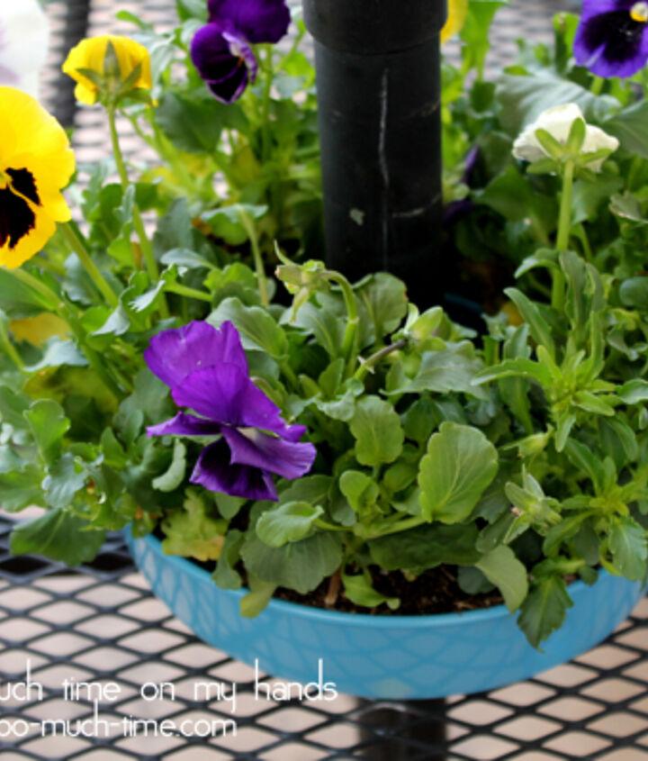 Bundt Pan Umbrella Planter Tutorial Hometalk