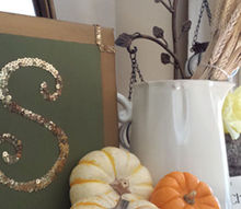 fall mantel, seasonal holiday decor