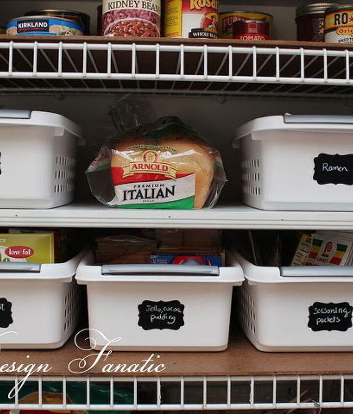 keep your pantry organized, closet, organizing, storage ideas