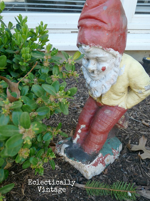 Vintage Garden gnome - love em or leave em?