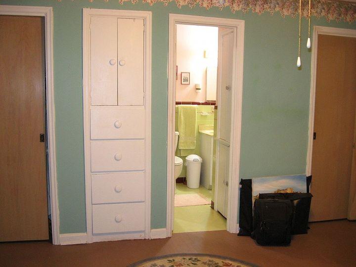 Master Bedroom looking into master bath ...