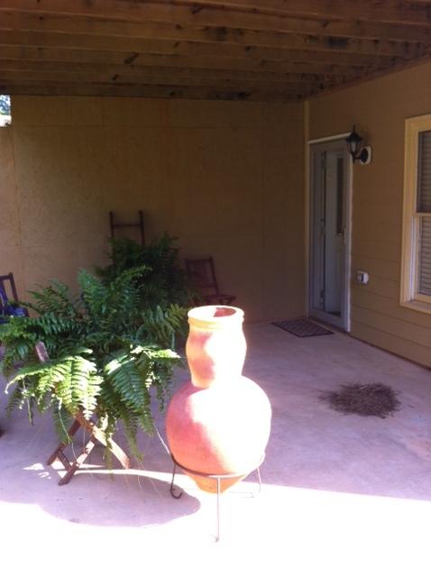 patio makeover under 100, decks, outdoor living, patio