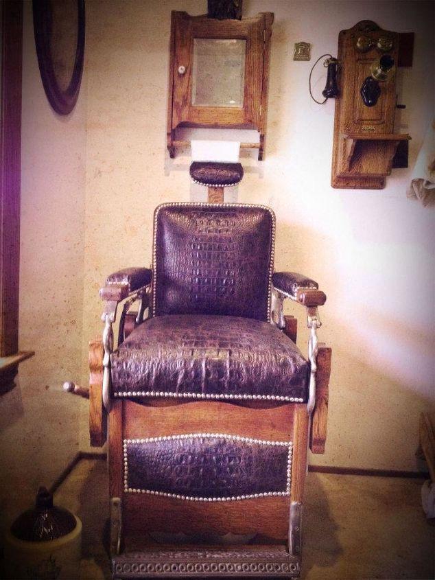 Koken Barber Chair Restoration Painted Furniture