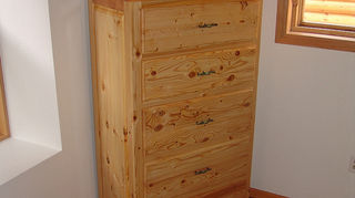 q in the market for a bedroom dresser how important is quality in choosing this type, painted furniture, knotty pine