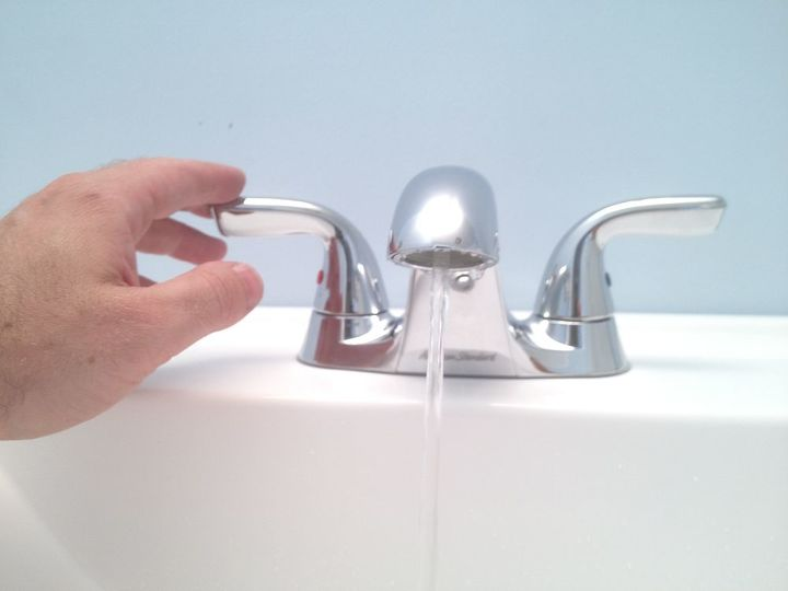 vanities for small bathrooms faucet amp sink installation in less than 1 hour, bathroom ideas, home improvement, small bathroom ideas