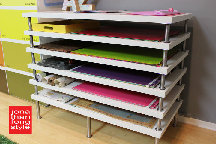 Flat file storage made with ikea table tops hometalk flat file storage made with ikea tabletops craft rooms diy storage ideas malvernweather Images