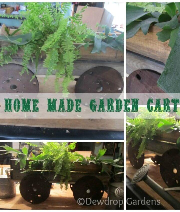 Home made garden cart