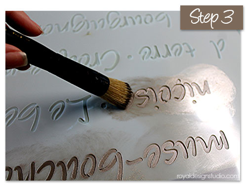 French Menu Lettering Stencil http://www.royaldesignstudio.com/products/french-menu-lettering-stencil