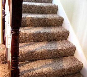 Ripping Carpet Off The Stairs, Flooring, Painting, Stairs, Before