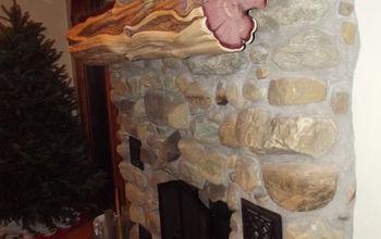 New Red Cedar Mantle!