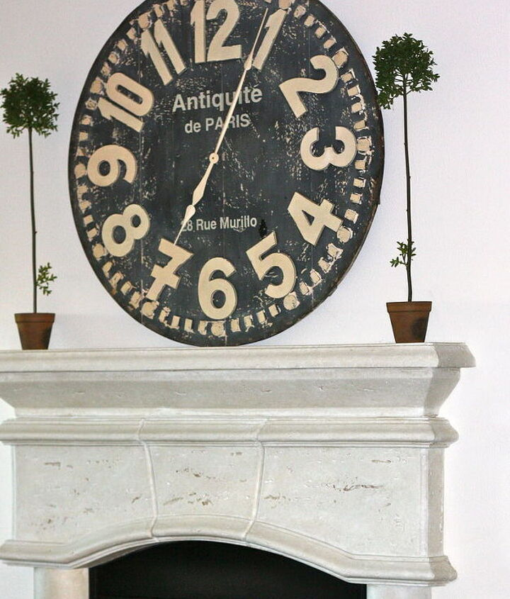 Clock is from Pier 1...