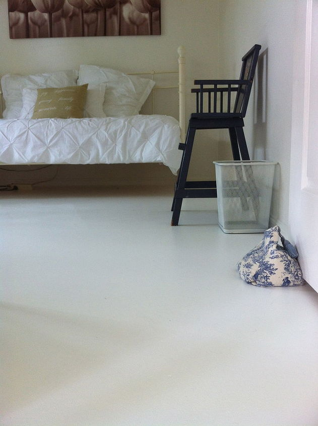 Painted Concrete Floors Masonry Flooring Painting In The Study